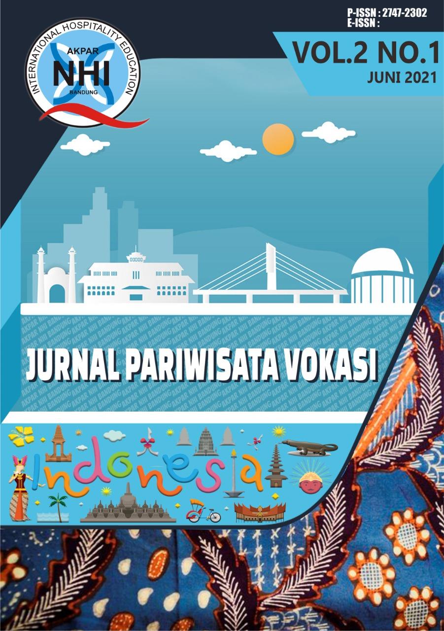 Lihat Vol 2 No 1 (2021): Jurnal Pariwisata Vokasi